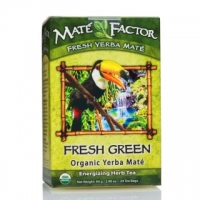 Mate Factor Organic Fresh Green Yerba Mate Tea Bags