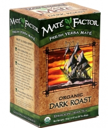 Mate Factor Organic Dark Roast Yerba Mate Tea Bags