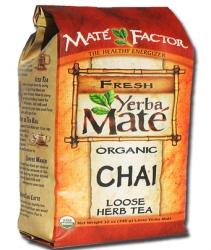 Mate Factor Loose Organic Chai Yerba Mate